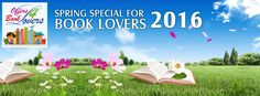 All the ‪#‎booklovers‬ get ready for ‪#‎Spring‬ special offers.