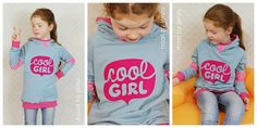 Stoff & Liebe: Plotter Freebie: coolGIRL