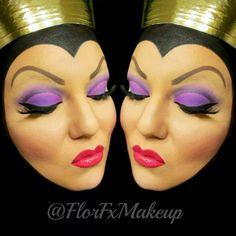 Evil Queen makeup look!                                                                                                                                                                                 More