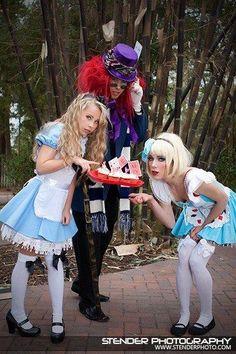 Photo-shoot I did : Alice and wonderland :)