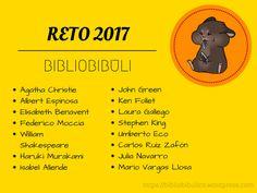 LIBROS RETO LECTURA 2017 LIBROS RETO LITERARIO 2017