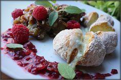 Choochla: Wątróbka w sosie malinowym z pieczonymi ziemniakam...