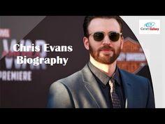 Chris Evans Biography Celebrity Videos, Celebration Gif, Celebs, Celebrities, Chris Evans, Biography, Mens Sunglasses, Youtube, Style