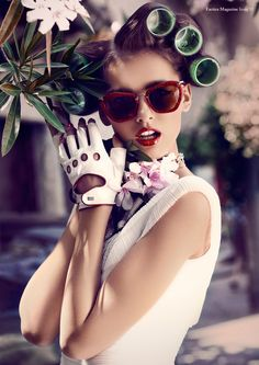 Stefan Imielski | Factice Magazine - since when did having rollers in your hair outside, ever become fab? Just a question