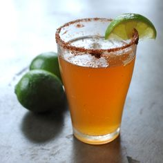 #michelada #cocktail #recipe #alcohol #beer #drinks alcohol http://www.organicauthority.com/ultimate-easy-michelada-recipe/