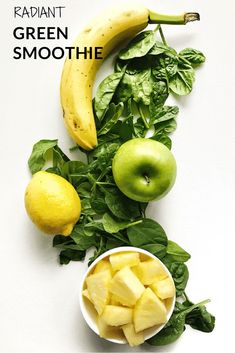 Radiant Green Smoothie #vegan #livingwellwithnic