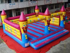 Check out our large square size birthday clowns theme bouncy castle,so large that allows multiple kids to play and jump. Birthday Clown, List Of Activities, Bouncy Castle, Tarpaulin, Panel Art, Clowns, 1 Piece, Things That Bounce, How To Memorize Things