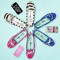 Coordinate your colors from head to toe! #ShoesdayTuesday