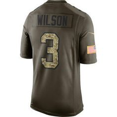 Oficiální Limited dres Wilson Seattle Seahawks Salute To Service  - 1