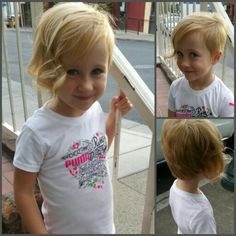 "Little girl pixie asymmetrical cut. My daughters ""do it herself"" haircut had to be fixed and we came up with this style for her. Fits her so well! She loves it. Credit of cut to Kelcie Easter @ Serendipity in GP, OR"