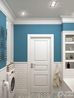 Шкаф над стиральной и ванной