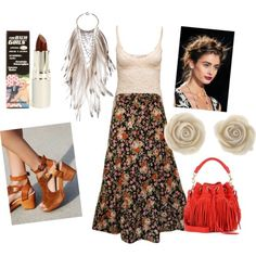 Untitled #27 by hlenelson on Polyvore featuring polyvore fashion style Free People Yves Saint Laurent TheBalm