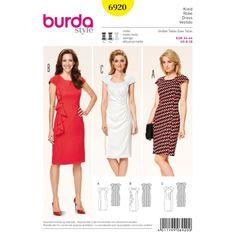 Střih Burda číslo 6920 - Eshop www.burda-strihy.cz