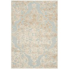 Shop for Safavieh Paradise Stone/ Aqua Viscose Rug (5'3 x 7'6). Get free shipping at Overstock.com - Your Online Home Decor Outlet Store! Get 5% in rewards with Club O!