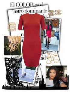 """happy 18th birthday Kylie!"" by stefani-ali ❤ liked on Polyvore featuring Arco, Mudd, Chanel and Chamak by Priya Kakkar"