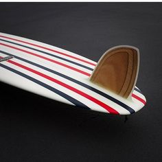 Red, White and Blue Surf Thump with D fin by Gully