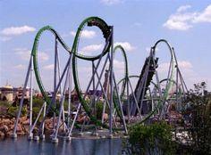 Marvel Super Hero Island Roller Coaster, Orlando Florida Universal Studios
