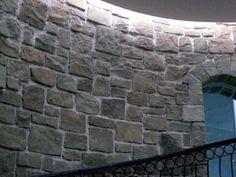 Internal stone wall