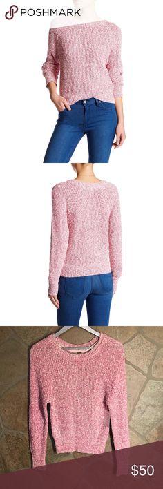 NWT Free People Knit sweater. Size XS Free People Knit Sweater. Raspberry pink. Size XS. NWT Free People Sweaters Crew & Scoop Necks