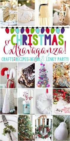 Christmas Extravaganza and Linky Party