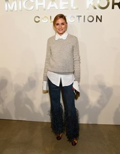 Olivia Palermo attends the Michael Kors Spring 2017 Runway Show during New York fashion week at Spring Studios on September 14, 2016 in New York City.