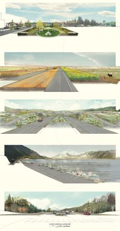 Wilderness and Exodus: the Production of a National Landscape #canada #shelleylong #student #project #university #toronto #landscape #architecture
