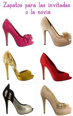 zapatos para la novia o invitadas de boda by menbur