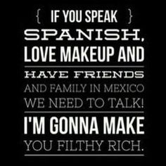 #latina #mexico #opportunidad #launch #newmarket #beYOUnique #3dfiberlashesbyyounique #doingwhatilove #amazing #lashes #beautiful #belleza #preguntenme #dinero #dreamcatcher #customer #family #friendsforlife #team #letsgetit  Hit me up if you're interested in this amazing opportunity.  It's so easy and I'm ready to get us there! !  Shoot for the moon and you'll land among the stars!!