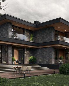 Home Building Design, Home Room Design, Dream Home Design, Building A House, House Gate Design, House Front Design, Modern House Design, Modern Architecture House, Architecture Design