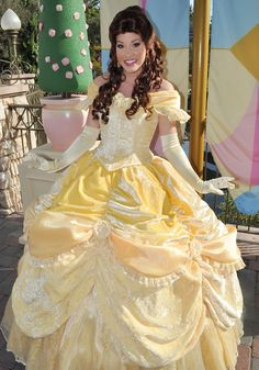 the new Belle look.she looks southern :). Belle Ballgown, Belle Dress, Disney Princess Dresses, Disney Dresses, Disney Dream, Disney Love, Pocket Princesses, Disney Princesses, Awkward Girl