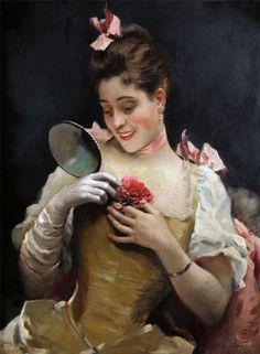Raimundo de Madrazo y Garreta (1841-1920) —  Portrait of Aline Masson  (640x872)