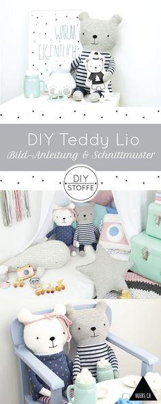DIY Teddy Lio zum Kuscheln - Step by Step Näh-Anleitung & Schnittmuster - Ebook