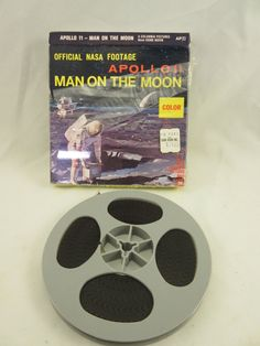 Vintage 8mm Film Nasa Footage Apollo 11 Man on the by TreasuresAZ ***ALSO SEE Vintage Jewelry at: http://MyClassicJewelry.com/shop