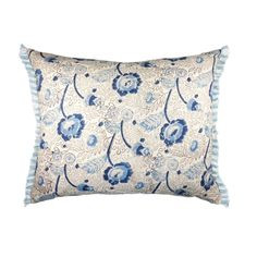 No Chintz China Tea Block Print Cushion Cover - 40cm
