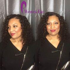 Curly hair install by Kandra 😻WEAVES ETC. DOUGLASVILLE  3313 C Hwy 5 Douglasville, GA 30135  ☎️ 706-452-1221 💜💜 WE HAVE BUNDLES💜💜 Classic Sew-ins:  $50+ Bob Sew-ins: $65+ Quick Weaves: $45+ Crochets: $75 Natural Styles: $45+ Silk Press: $45+ Kids Styles: $25  #weavesetcga #laceclosure #crochetbraids #virginhair #weavesalon #atlstylist #bundledeals #promseason #sewins #douglasville #douglasvillestylist #boblife #quickweave #frontals #http://www.jennisonbeautysupply.com/  ,#hairinspo…