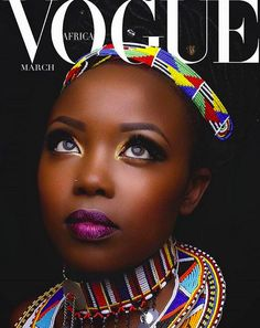 Vogue - Africa ~ Get Inspired: Beautiful Images of Ivlyn Ndunge Mutua
