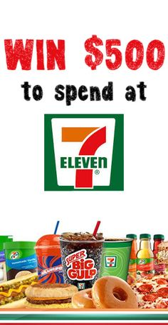 You Could #Win $500 to Spend at 7-11! #voucher #competition