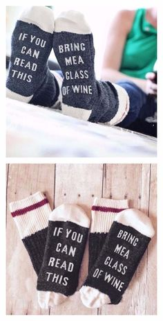 Socks -If You Can Read This, Bring Me a Glass of Wine