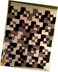 Mad as a Hatter Modern Quilt Tutorial » messygoat