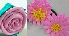 Hoje você vai aprender como fazer lindas flores de EVA. Esse é um artesanato simples que serve para todas as ocasiões.