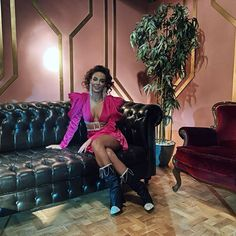 Ebru Sahin wearing Farnaz salmani mini dress shop now Pink Mini Dresses, Turkish Actors, Actors & Actresses, Shop Now, Punk, Celebrities, How To Wear, Shopping, Fashion