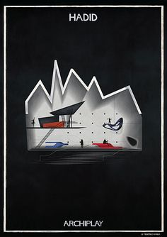 federico babina sets a moody scene with architect-inspired scenography