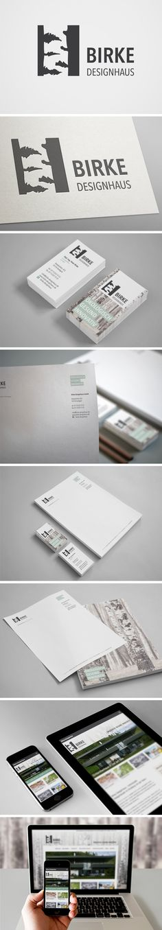 Birke Designhaus GmbH |  #corporate #design #logo #branding | made with love in Stuttgart by www.smoco.de