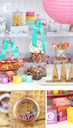 July is National Ice Cream Month! Let's make it a sweet one with a themed jewelery bar full of sweet treats!