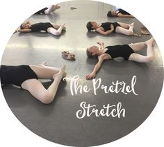 "Get yourself into a ""Pretzel"" and improve your turnout, dancers! via Accidental Artist Dance Teacher, Dance Class, Dancer Stretches, Splits Stretches, Adult Ballet Class, Ballet Kids, Dance Technique, Dance Training, Dance Tips"