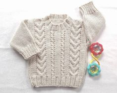 b0190491a Baby girl pink knit cardigan 6 12 months Baby by LurayKnitwear ...
