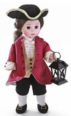 "Madame Alexander doll: Matthew, ""Red Coat."""