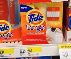Tide Stain Erasers Only $.32 Each At Target!