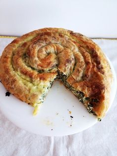 what caroline cooked: Spinach and Cheese Roly Poly in thermomix