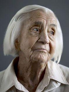 100-year-olds by Karsten Thormaehlen. I hope I make a sophisticated old lady someday.